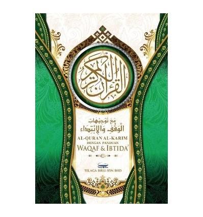 Al-Quran Al-Karim Dengan Panduan Waqaf & Ibtida' (Kecil)